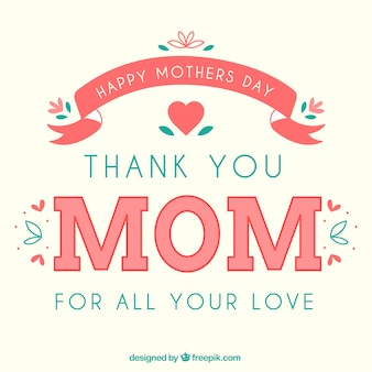 Card for happy mothers day