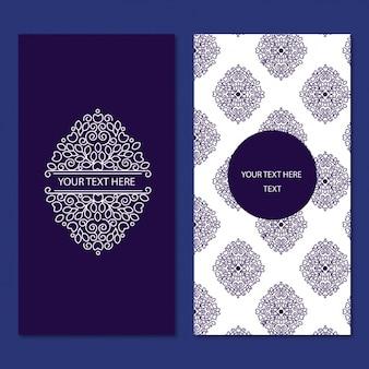 Card template design