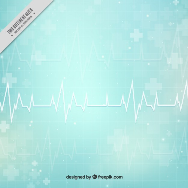 Cardiogram abstract medical background