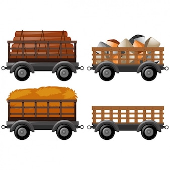 Cart designs collection