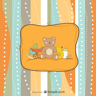 cartoon hand painted background    vector