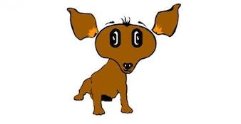 Cartoon Puppy Vector
