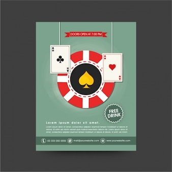 Casino brochure design