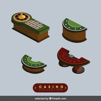 Casino elements collection