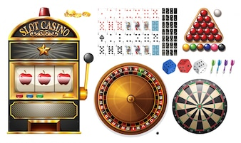 Casino machines and games