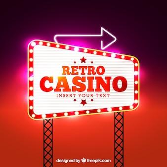 Casino signal background