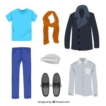 カジュアル紳士服