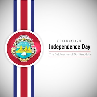 Celebrating costa rica independence day