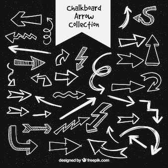 Chalkboard arrow collection
