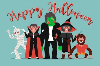Characters in the halloween