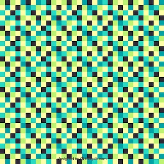 Checkered colorful pattern