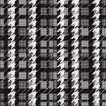 Checkered pattern in grayscale