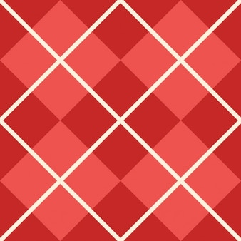 Checkered red texture