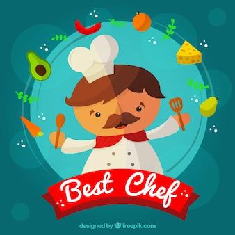 Chef background design