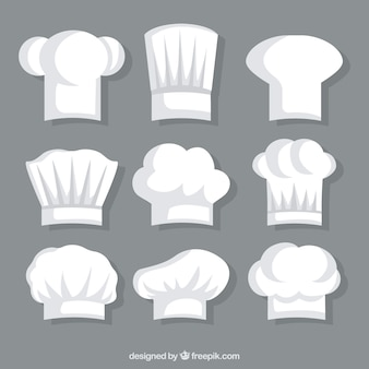 Chef  white hat collection
