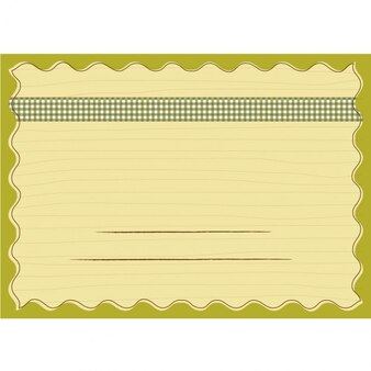 Childish template design for school and birthday card