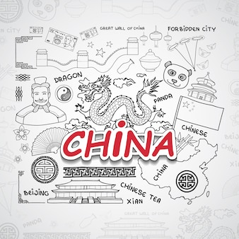 China elements collection
