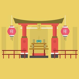 Chinatown background design