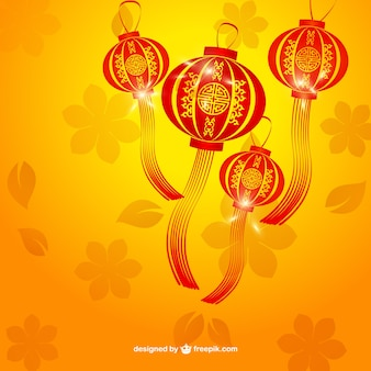 Chinese lamps