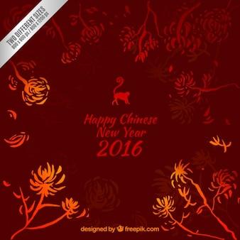 Chinese new year elegant background