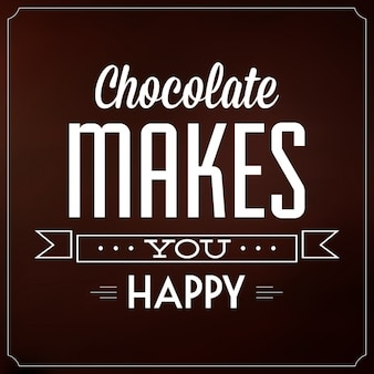 Chocolate background design