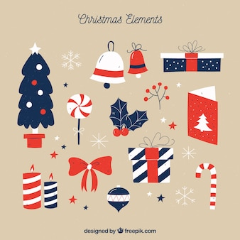 Christmas accesories with modern style