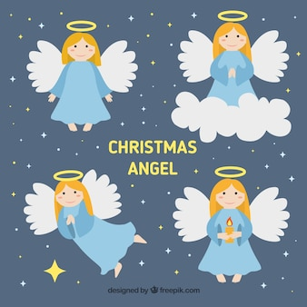 Christmas angels characters