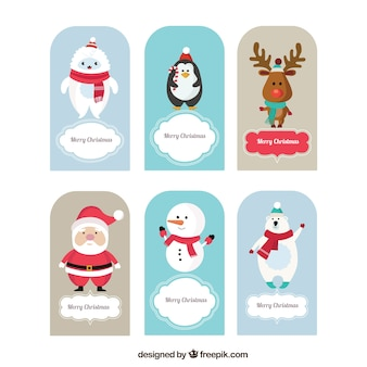 Christmas animal cards
