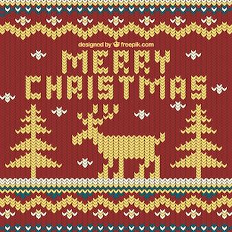 ジャージースタイルのクリスマスの背景