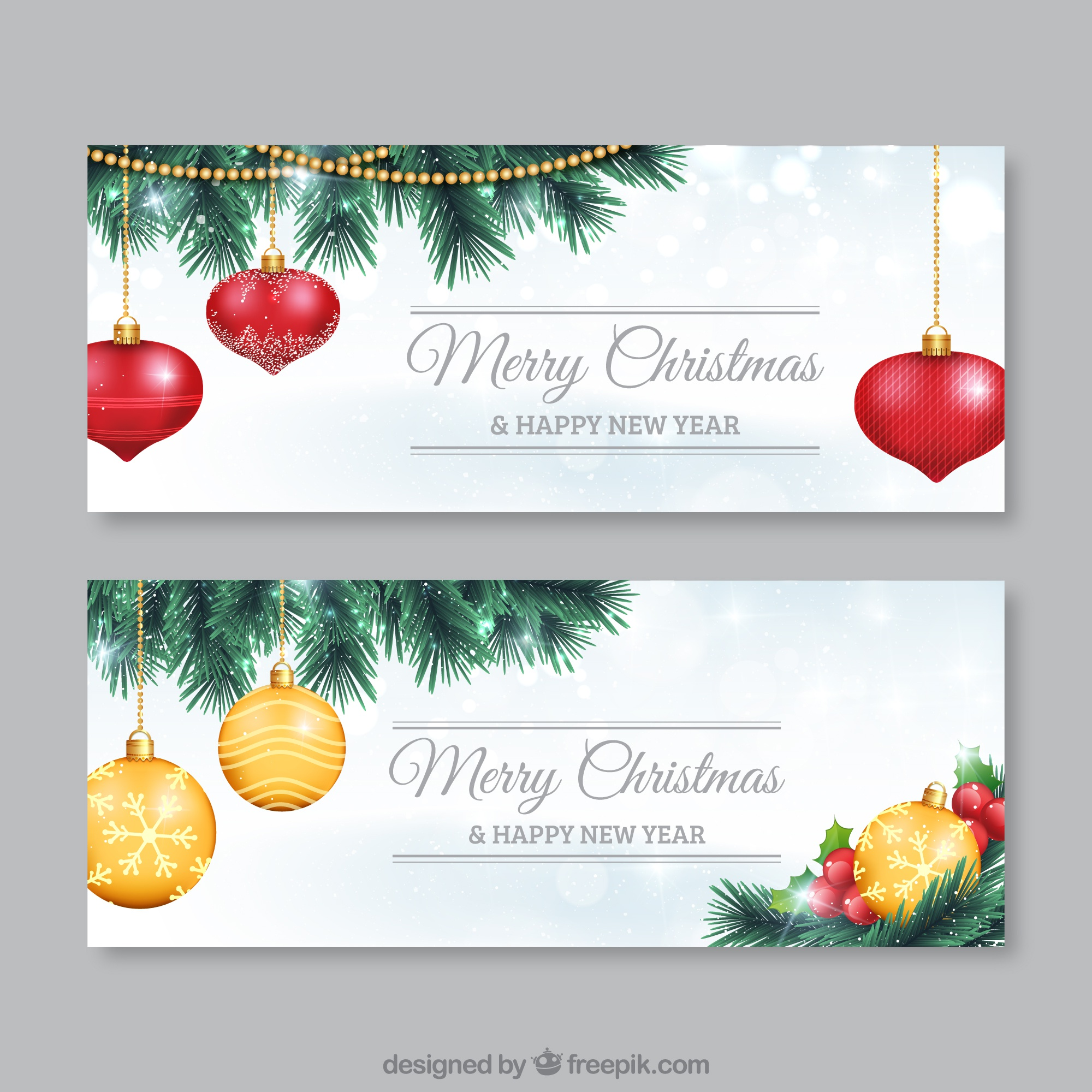 Christmas Balls Flyer Pack