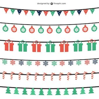 Christmas buntings