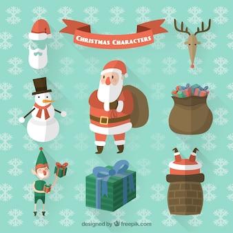 Christmas Character Icons