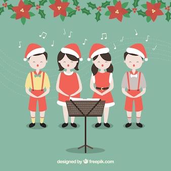 クリスマス合唱団