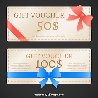 Christmas Gift Voucher Pack