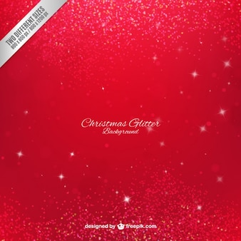 Christmas glitter background