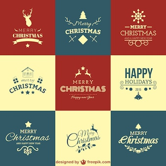 クリスマスの挨拶セット