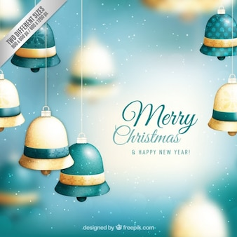 クリスマスジングルベルの背景