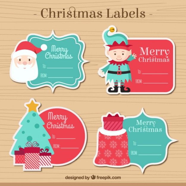Christmas Label Collection