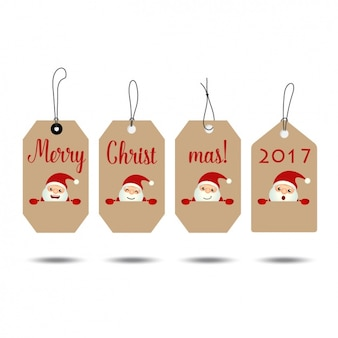 Christmas labels collection
