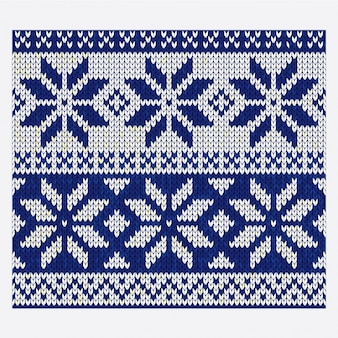 Christmas nordic seamless knitting