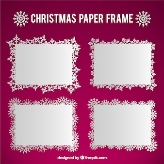 Christmas paper frame pack