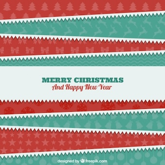 Christmas paper stripes background