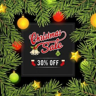 Christmas sales design