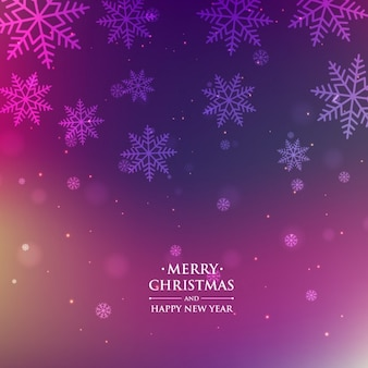 Christmas season purple background