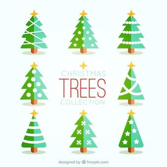 christmas season tree collection
