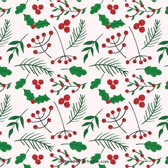 Christmas vegetation pattern