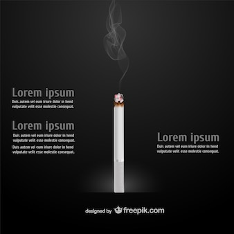 Cigarette infographic