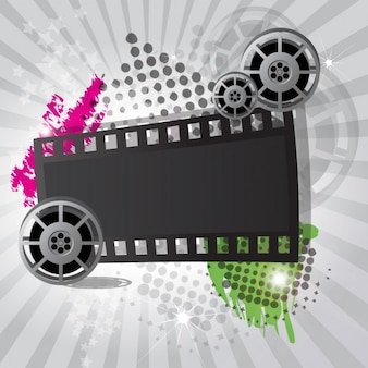 Cinema background design