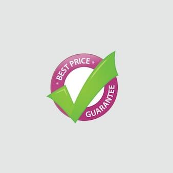 Circle UI label Price Guarantee