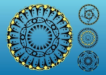 Circles Vector Art